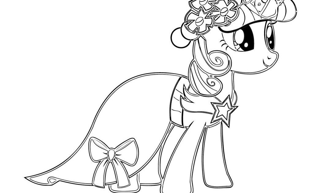 Coloring Twilight Sparkle Pages Best For Kids Fabulous My Little ... | 630x1035