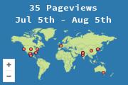 Ubicación de visitantes a esta página
