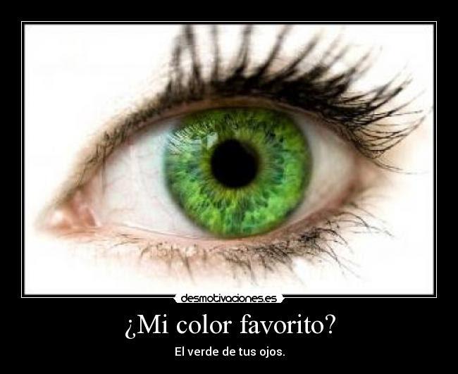 Mi Color Favorito Desmotivaciones