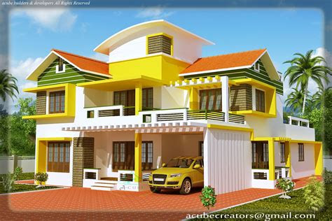 simple house plans kerala model duplex building plans