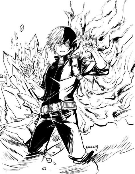 images  shouto todoroki  pinterest anime