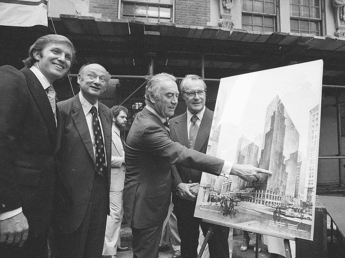 As someone who loves the art of negotiation, Donald Trump was able to negotiate New York City to provide a 40-year tax abatement for the Grand Hyatt Hotel — the first ever granted to a commercial property.