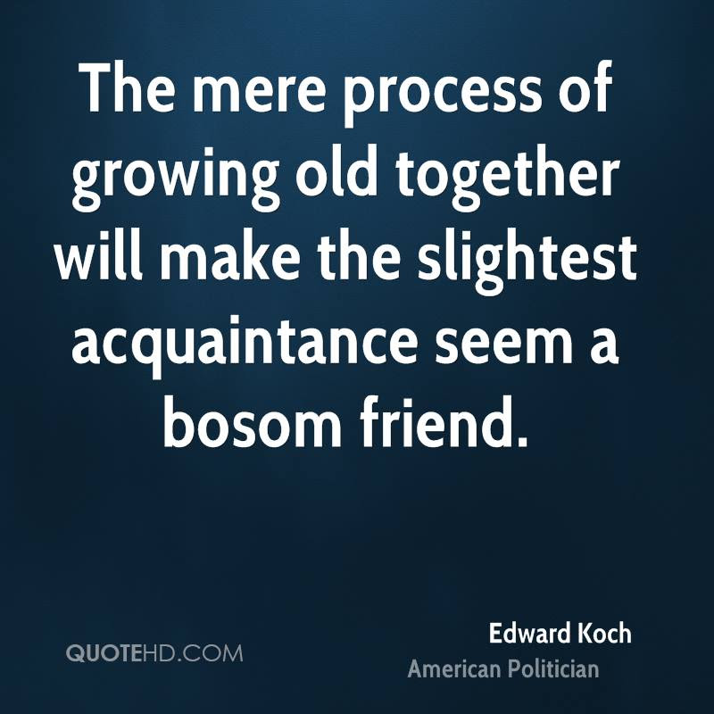 Edward Koch Quotes Quotehd