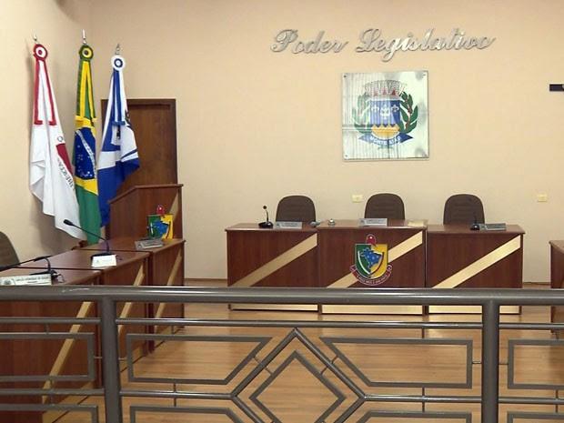 Câmara de Monte Sião (Foto: Reprodução EPTV)