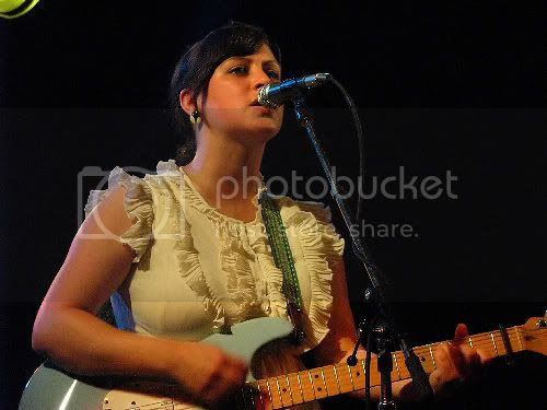 Tracyanne Campbell of Camera Obscura: photo by Michael Ligon