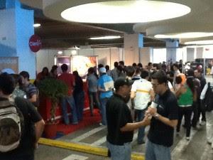 Feria de empleo recibió a más de 3500 personas en su primer día. Archivo CRH