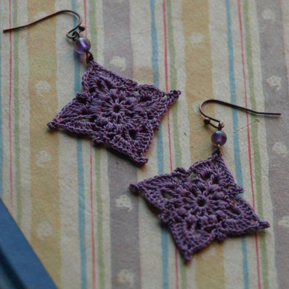 Crochet earrings <- @Abbie Woodard can we learn how to make these?