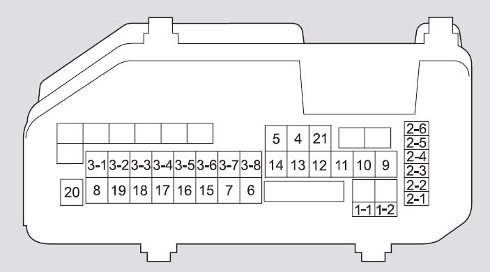 Acura Tsx 2009 Fuse Box Diagram Auto Genius