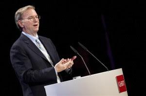 En la imagem, el presidente de Google, Eric Schmidt. EFE/Archivo