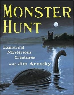Monster Hunt by Jim Arnosky book cover