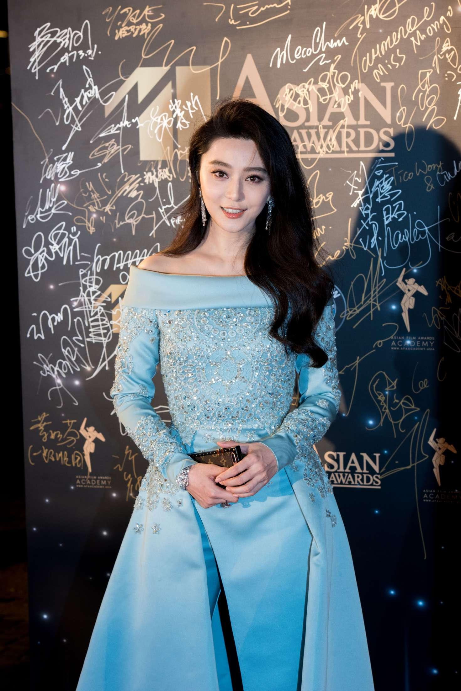 Fan BingBing at 11th Asian Film Awards in Hong Kong