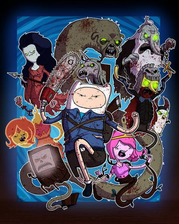 Evil Dead versión Hora de Aventuras