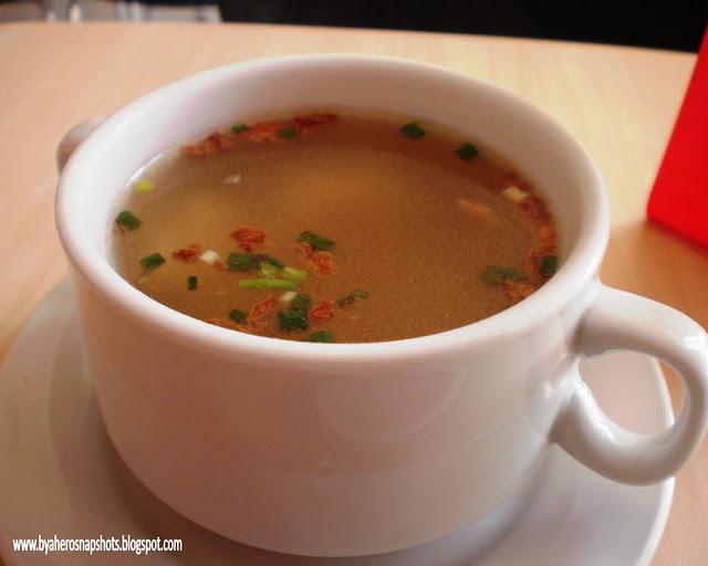 Free Wanton Soup at Tapa King