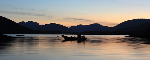 Ardgour Sunset by seymour macleod