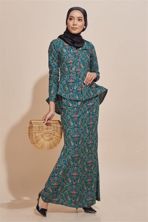 kaisara kebaya peplum batik code ks habra fashion