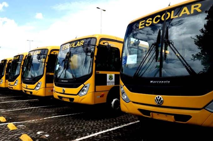 Prefeitura divulga edital de contratação para 146 monitores dos ônibus escolares