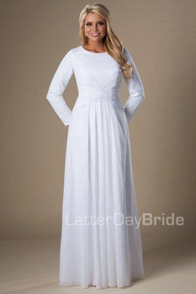 Houston   LDS Temple Dress   Modest   LatterDayBride   SLC