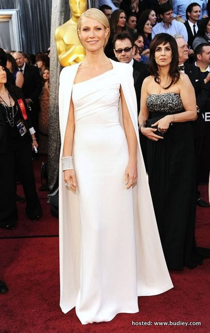 Gwyneth Paltrow wearing Tom Ford at the 2012 Academy Awards.