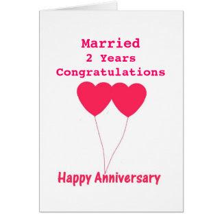36 2 Year Wedding Anniversary Cards Wedding Cards 2 Anniversary Year