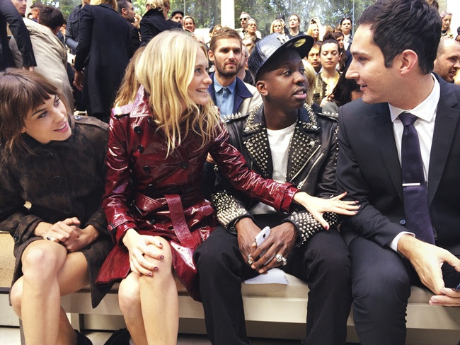2 Alexa Cheung, Poppy Delevingne, Jamal Edwards and Kevin 14 Show
