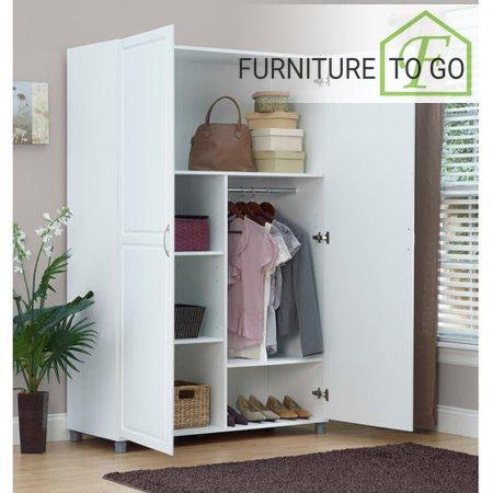 Clearance Furniture In Dallas 19999 White 48 Inches Wide Wardrobe
