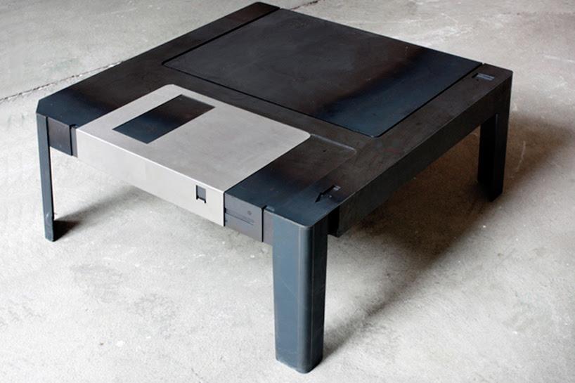 tabela de disquete por Axel Van Exel + marian neulant