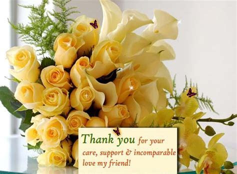Heartfelt Thank You For  Free Friends eCards, Greeting