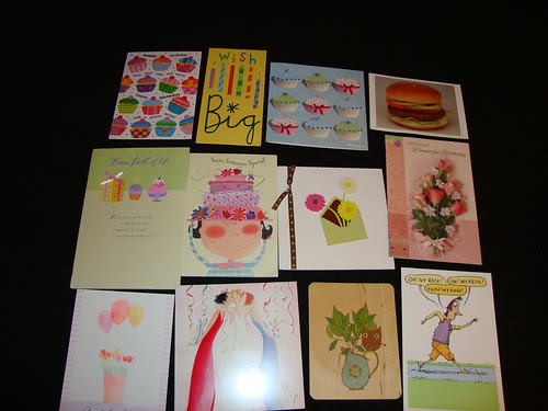 Birthday cards in aggregate