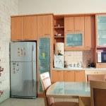 Exotic Courtyard House Kitchen Design