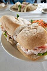 Shrimp Salad Sandwich, The Spinnaker, Sausalito
