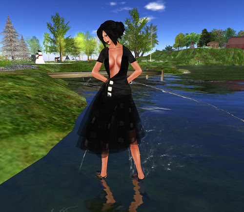 Leezu black dress