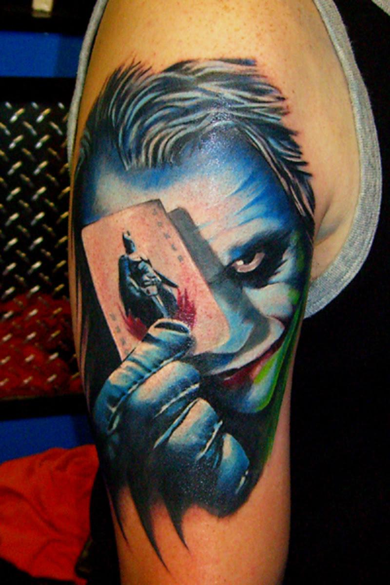 26 Beautiful Tattoo Joker
