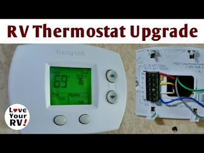 (More) Love your RV videos: RV Thermostat Upgrade, Wire Shelving, Kofa NWR Palm Canyon, & Replacing A Suburban Water Heater