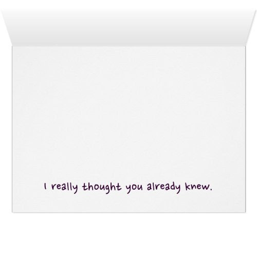 Sorry I Called You Stupid | Funny Note Card