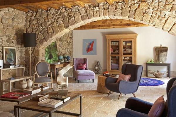 Casa de campo en la toscana claudia pelizzari interior for La casa toscana tradizionale
