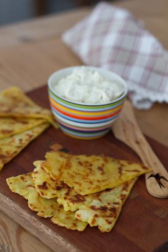 Tattie scones / Potato scones / Kartulikakud