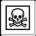 Знак токсической опасности