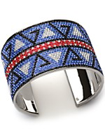 Kelly Killoren Bensimon Crystal Navajo Cuff