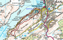 Oban stage, 3.9 miles