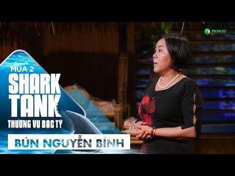 Shark Tank Việt Nam mùa 2 - Tập 4: 'Bún chảnh Nguyễn Bính' gọi vốn kỷ lục... 8 triệu USD