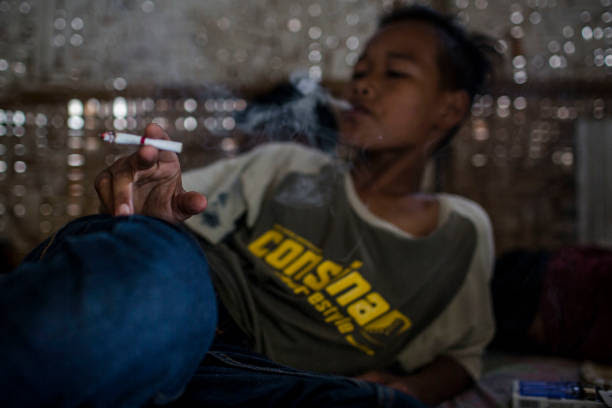 Indonesian quot;Marlboro Boysquot; On The Rise Photos and Images  Getty Images