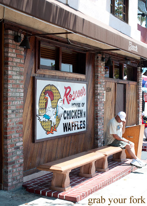 roscoes house of chicken and waffles in la los angeles