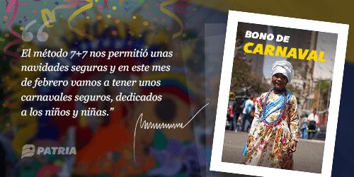 Inicia la entrega del Bono de Carnaval enviado por el ejecutivo nacional