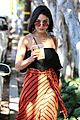 vanessa hudgens cant stop laughing while shopping with friends 05