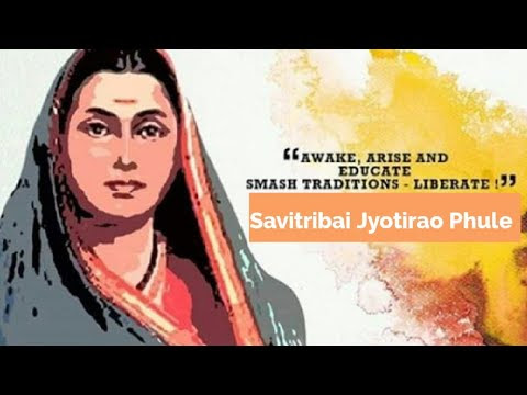 India's First Feminist Icon - Savitribai Phule