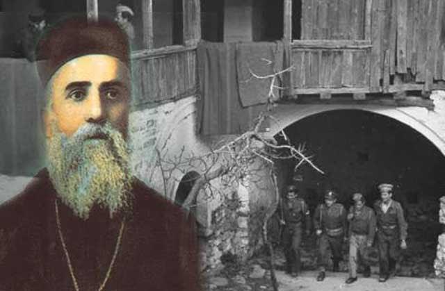 Αποτέλεσμα εικόνας για εμφανιση αγιου Νεκταριου σε χωροφυλακα