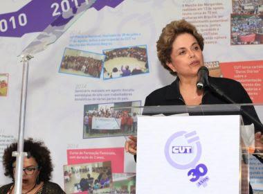 Dilma descarta concorrer ao Senado pelo Nordeste: 'Não sou o Sarney'