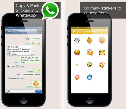 WhatsApp Stickers For iPhone