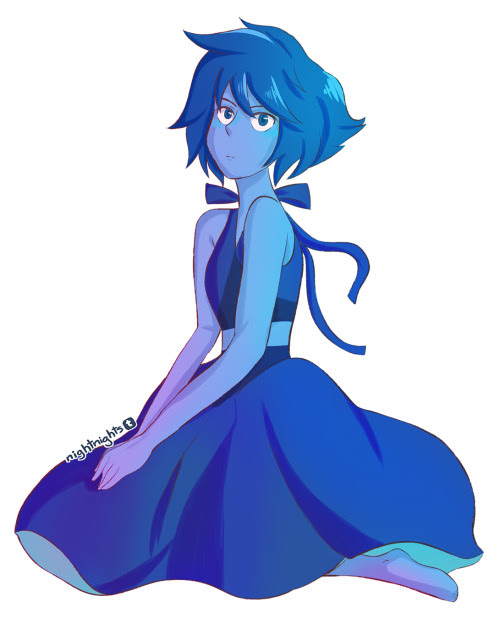 Anonymous said: Can you draw Lapislazuli from Steven Universe? :) Thanks!! Answer: I love Lapis!