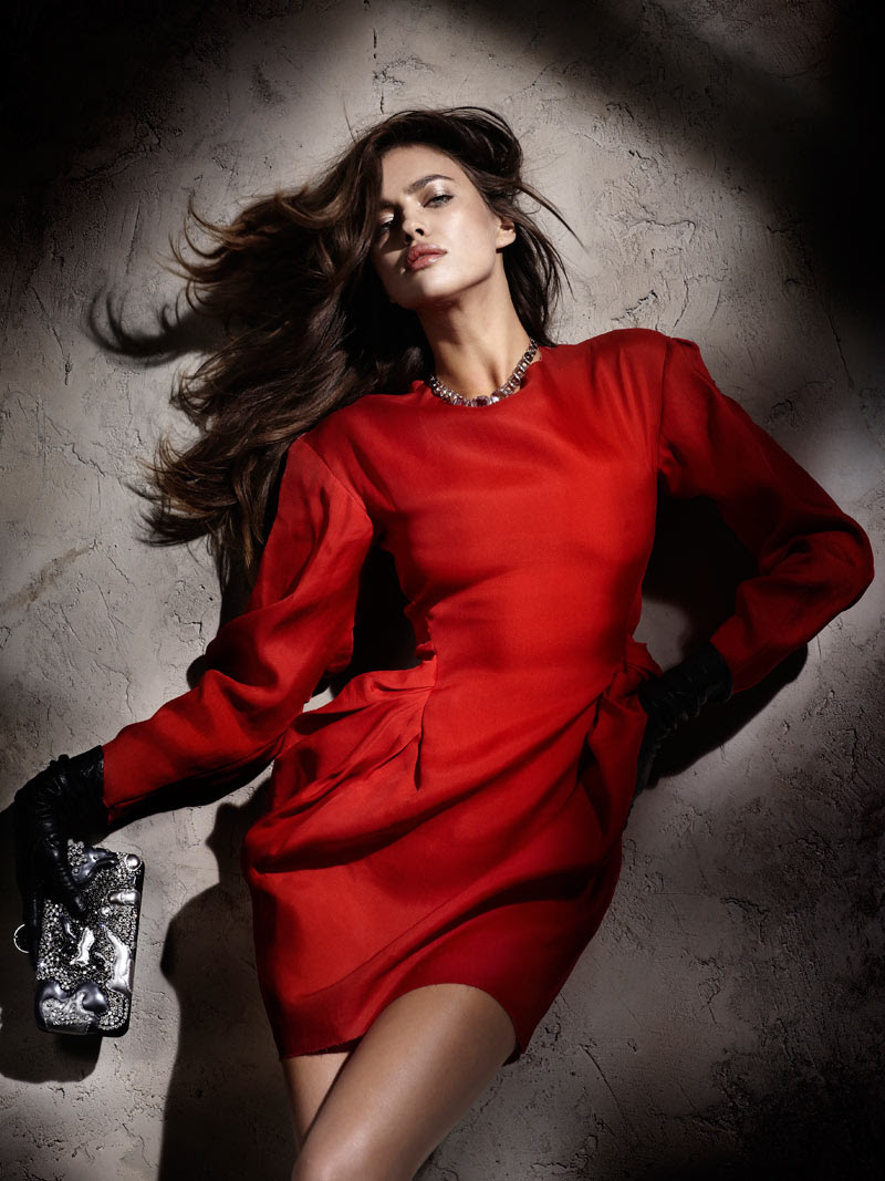 Fashion Model Irina Shayk, Style inspiration, Fashion photography, Long hair